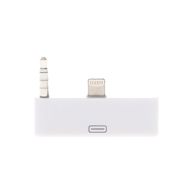 PA4390 8 PIN TO 30 PIN ADAPTOR WITH AUDIO (WHITE)