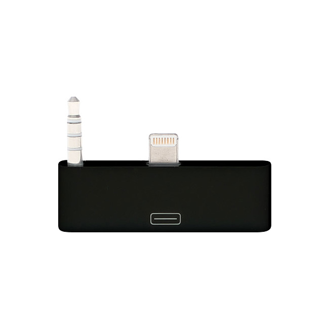 PA4392 8 PIN TO 30 PIN ADAPTOR WITH AUDIO (BLACK)