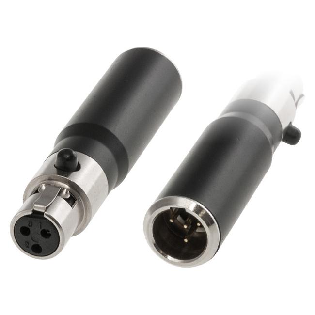 PD4932 MINI XLR AKG TA3F TO SHURE TA4M CONVERTER