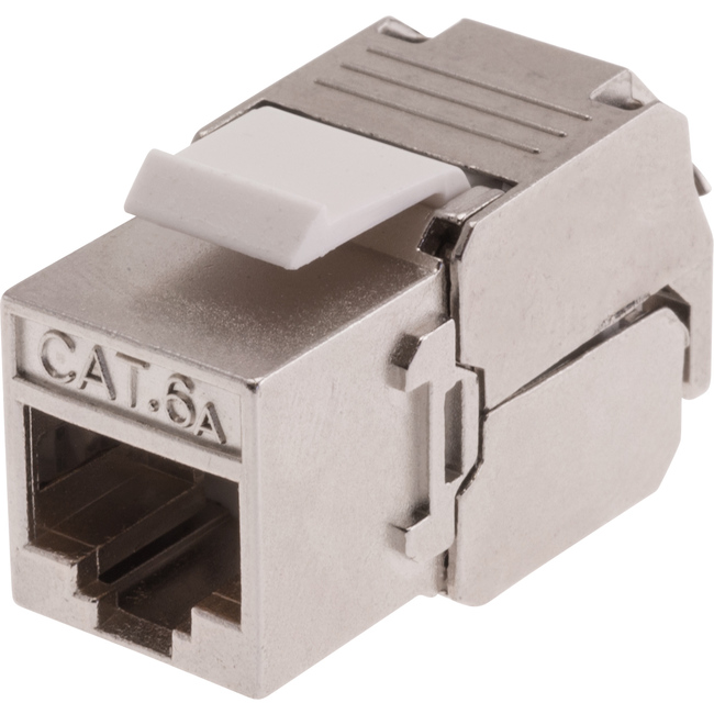 PK4547 SHIELDED CAT6A SOCKET KEYSTONE MECH