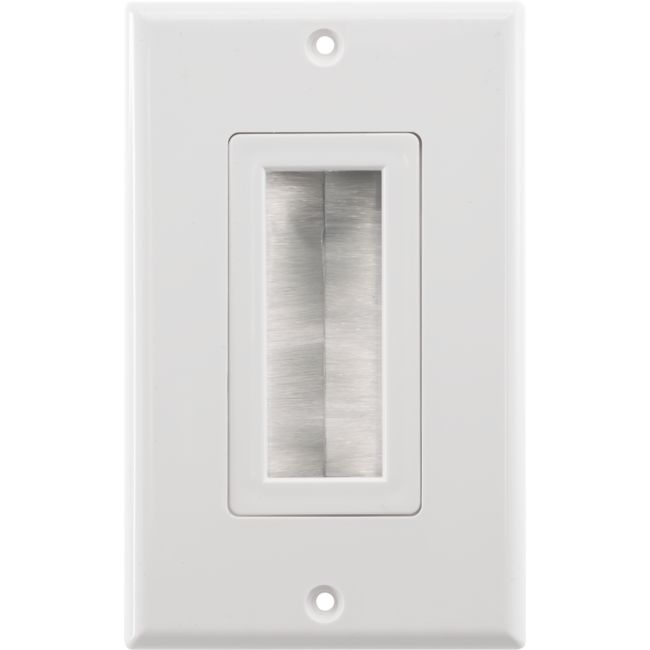 PRO1272D DECORA BRUSH WALL PLATE