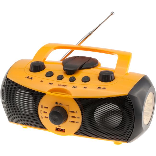 DMP7 DYNAMO MULTIFUNCTIONAL RADIO & MUSIC PLAYER