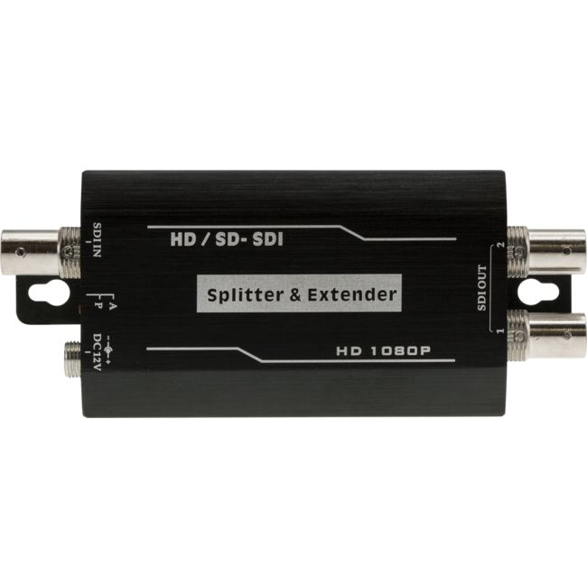 HD8002D 1-IN-2-OUT SDI AMPLIFIER/SPLITTER