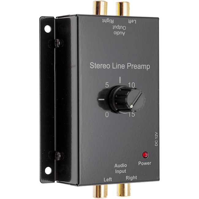 PRO1327 STEREO AUDIO LINE PREAMP