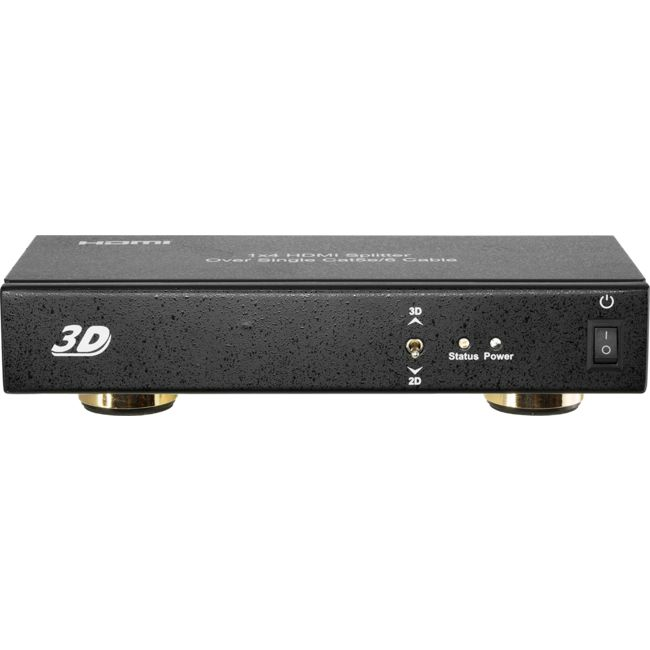 H4SPC5B 4-WAY HDMI SPLITTER OVER CAT5/6