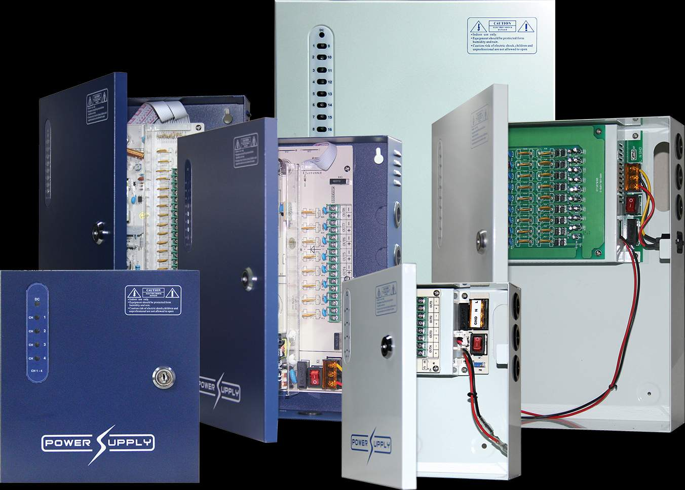 12VDC CCTV POWER SUPPLIES WITH SURGE PROTECTION