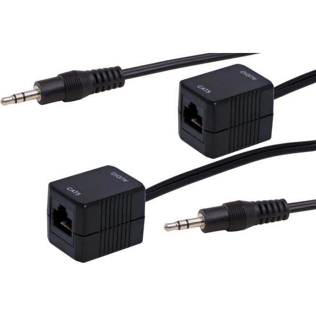 PRO1363 3.5MM STEREO AUDIO CAT5 EXTENDER BALUN