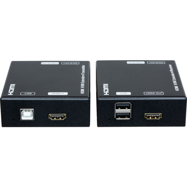 HDMIKVMV2 HDMI USB2.0 KVM EXTENDER UP TO 60M W/USB OR 100M HDMI