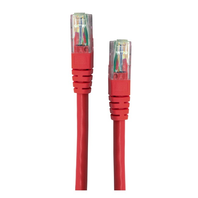LC6628R 0.5M CAT6 RED PATCH LEAD