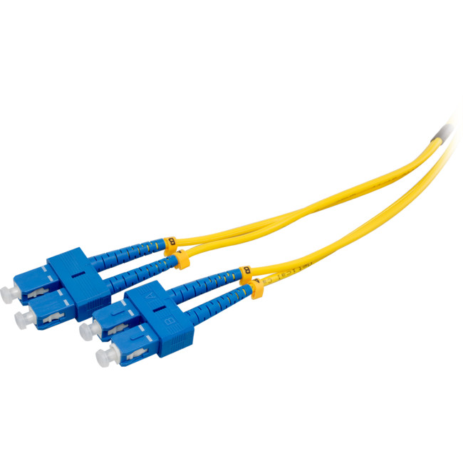 FP7600 2M SM FIBRE PATCH LEAD SC-SC SINGLE MODE DX 3.0MM LSZH