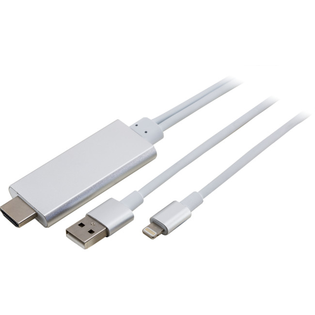 8P2HDMI IPHONE 5/6 IPAD 8 PIN LIGHTNING TO HDMI ADAPTER LEAD
