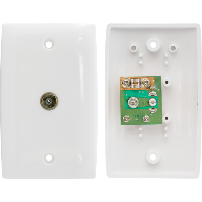 PR3888 SINGLE PAL SOCKET WALL PLATE