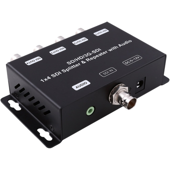 SDI4SP 3G/HD-SDI SPLITTER & REPEATER
