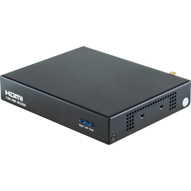 HE04 – H.265 HD HDMI DECODER FOR IP TV